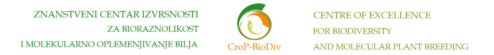 Znanstveni centar izvrsnosti za bioraznolikost i molekularno oplemenjivanje bilja Logo